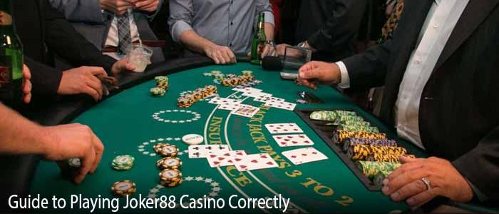 Guide to Playing Joker88 Casino Blackjack