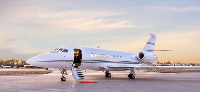 Private Jet with Long Range